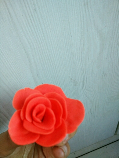 橡皮泥玫瑰花 - 流行时尚 - 手工坊论坛 - 育儿论坛
