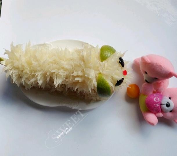 水果造型~~萌萌的柚子小狗!附教程图片