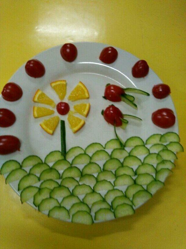 幼儿园水果拼盘
