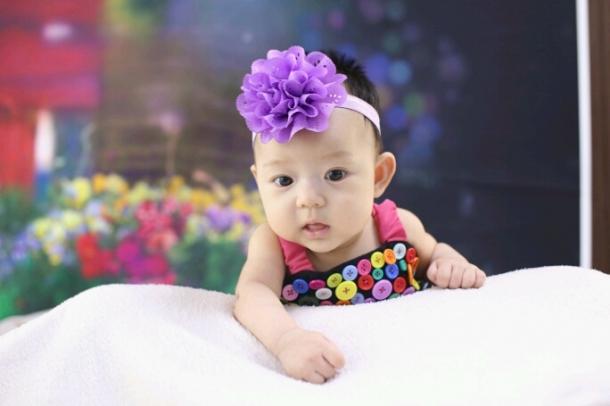可爱小婴儿图片三张
