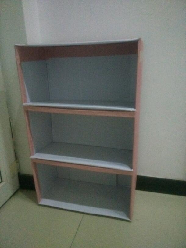 手工制作纸盒变家具