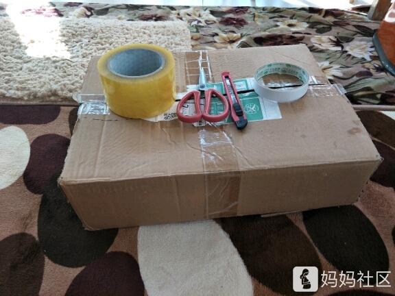 简单手工废旧纸箱变小凳子