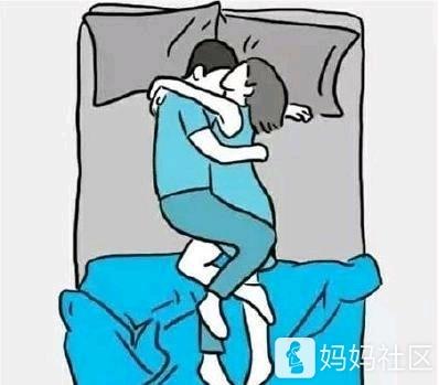 看看你们夫妻睡觉是那种姿势图片