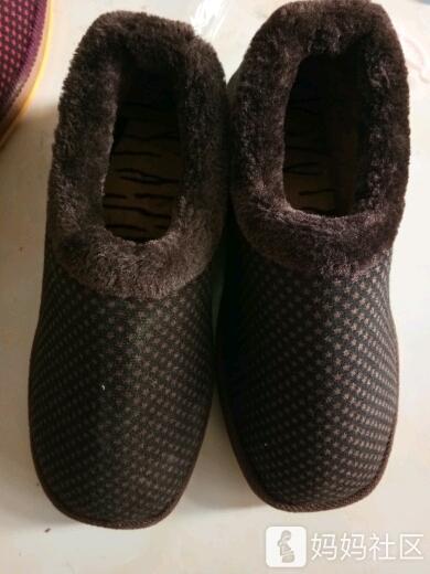 婆婆给做的棉鞋