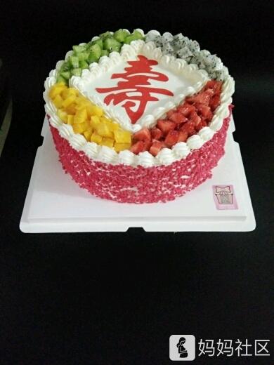 这款蛋糕简单大气,水果又多!