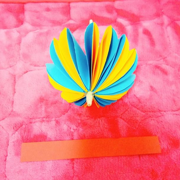 幼儿园手工制作真正的小雨伞深受小朋友们喜爱