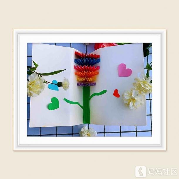 幼儿纸皮手工制作花朵